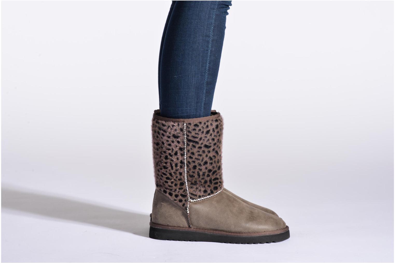Boots en enkellaarsjes Esprit Uma Leo Boot 050 Grijs onder