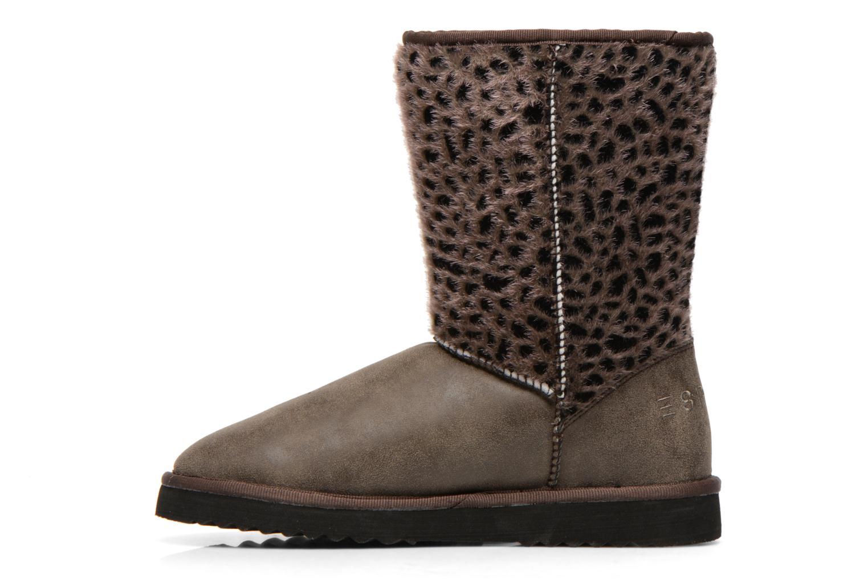 Boots en enkellaarsjes Esprit Uma Leo Boot 050 Grijs voorkant