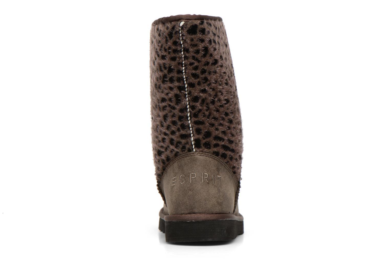 Boots en enkellaarsjes Esprit Uma Leo Boot 050 Grijs rechts