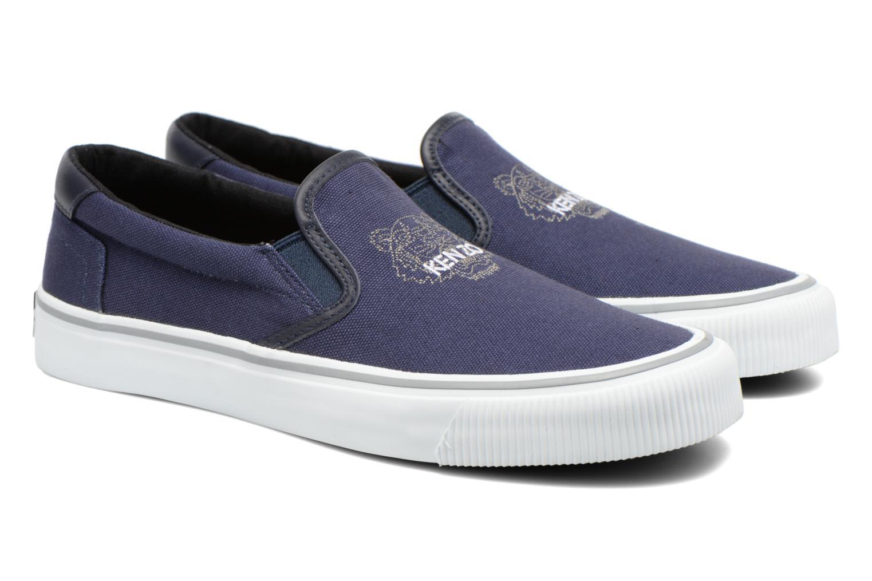 Sneakers Kenzo Velvet Blå 3/4 bild