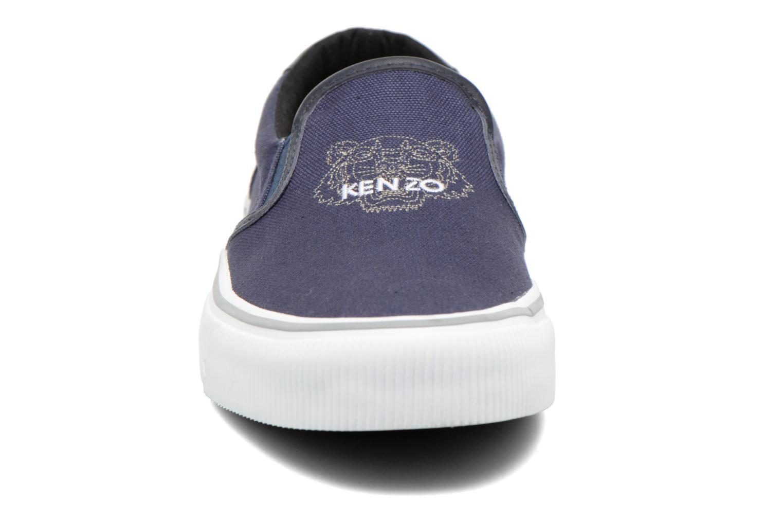 Sneaker Kenzo Velvet blau schuhe getragen