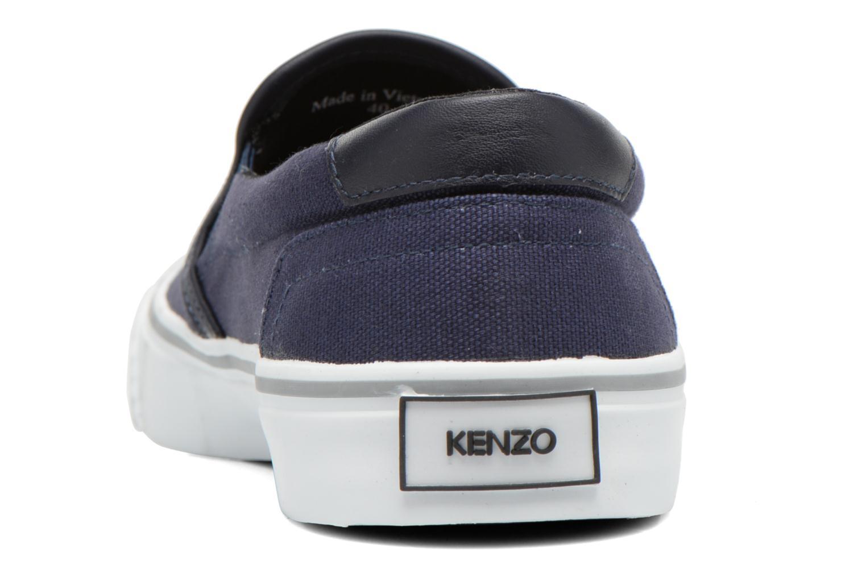 Sneaker Kenzo Velvet blau ansicht von rechts