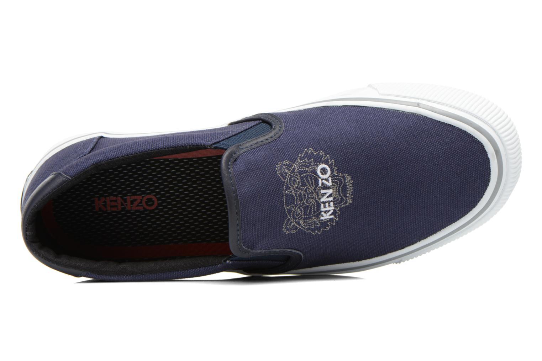 Sneakers Kenzo Velvet Blå bild från vänster sidan