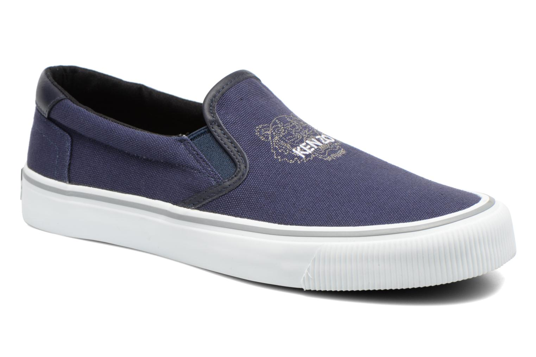 Sneakers Kenzo Velvet Blå detaljerad bild på paret