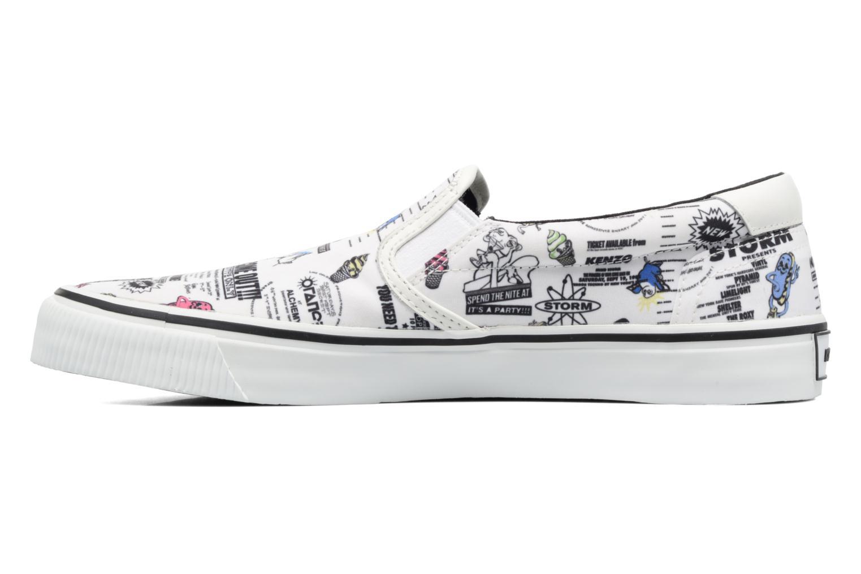 Sneakers Kenzo Velvet Vit bild från framsidan