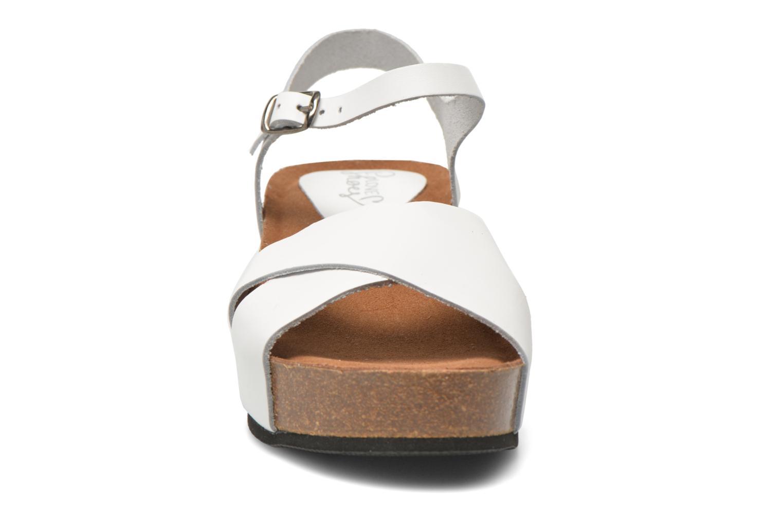 Sandalen I Love Shoes Climatte weiß schuhe getragen