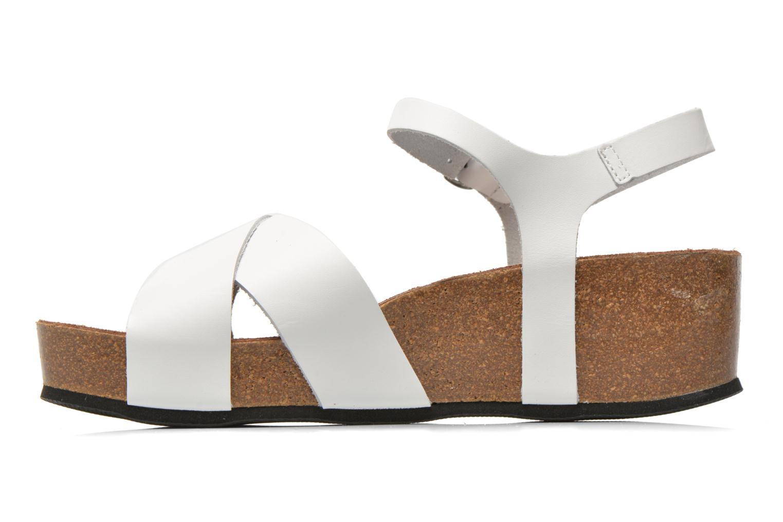 Sandalen I Love Shoes Climatte weiß ansicht von vorne
