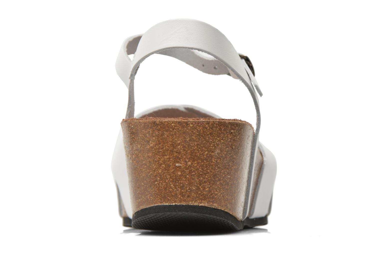 Sandalen I Love Shoes Climatte weiß ansicht von rechts