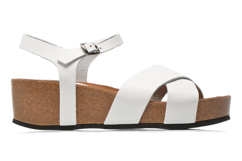 Sandalen I Love Shoes Climatte weiß ansicht von hinten