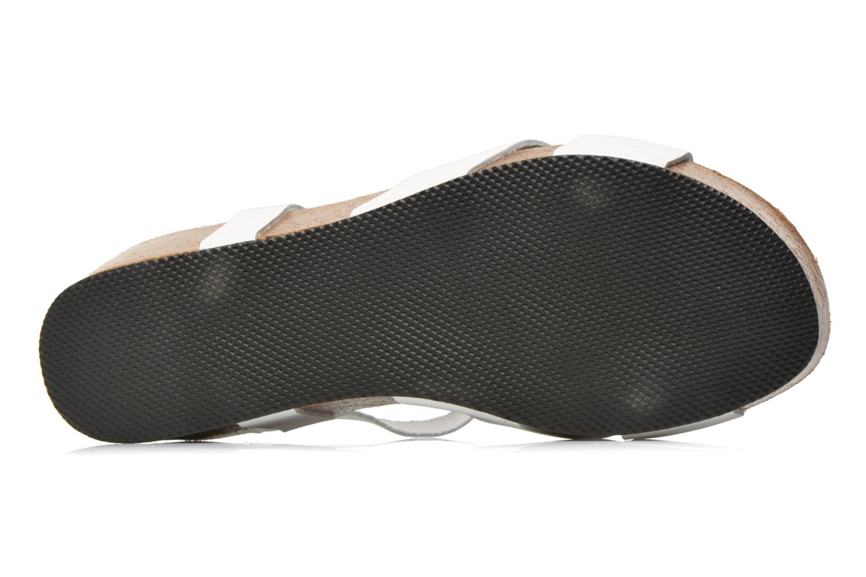Sandalen I Love Shoes Climatte weiß ansicht von oben