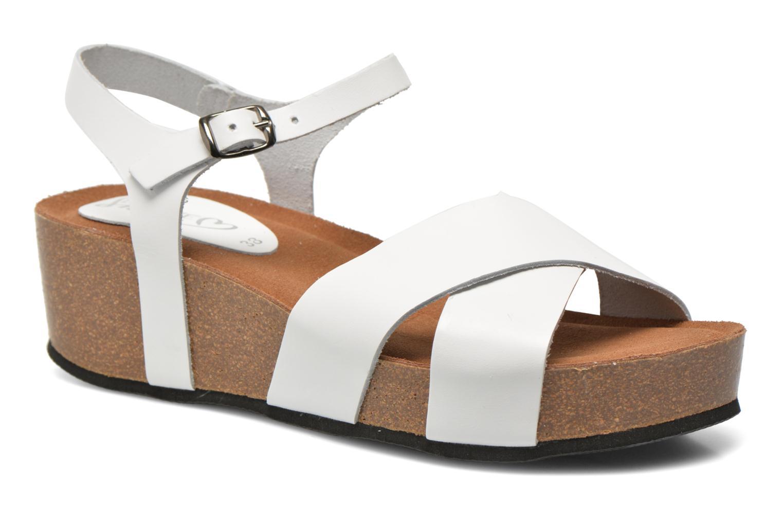 Sandalen I Love Shoes Climatte weiß detaillierte ansicht/modell