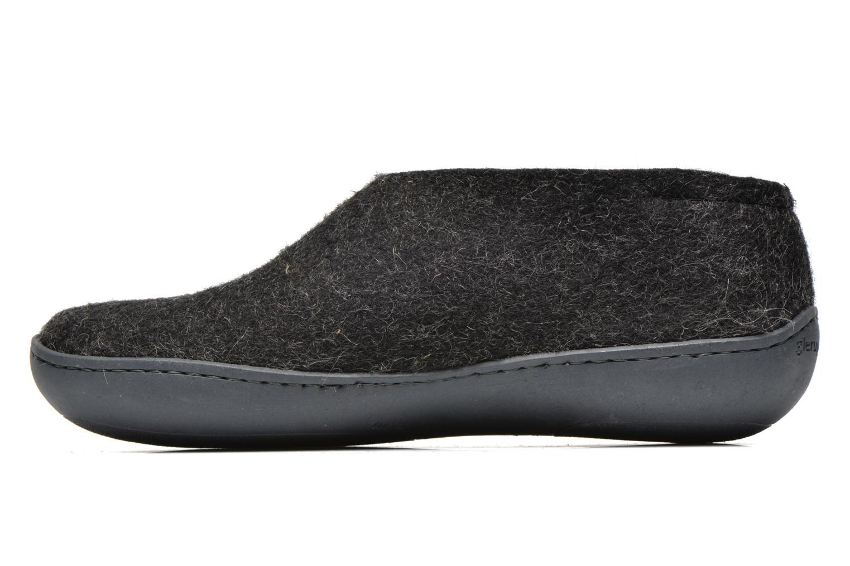Pantoffels Glerups Porter Gomme M Zwart voorkant