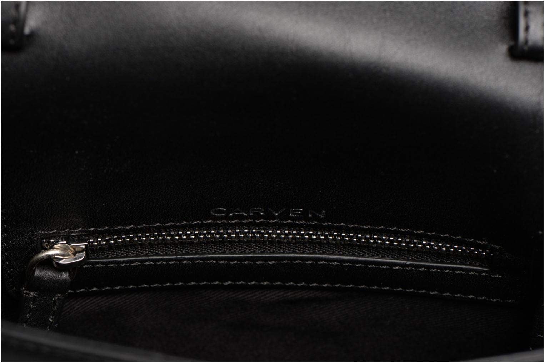 Sacs à main Carven MERCER Porté travers Noir vue derrière