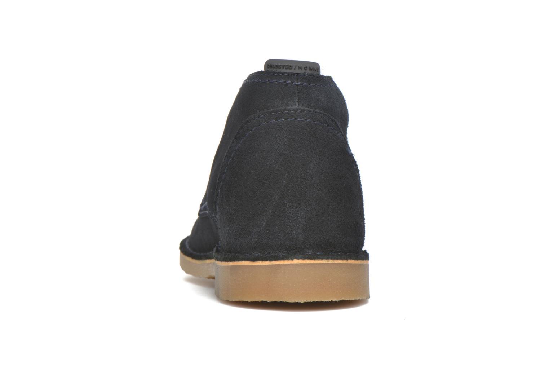 Chaussures à lacets Selected Homme Royce Warm Bleu vue droite