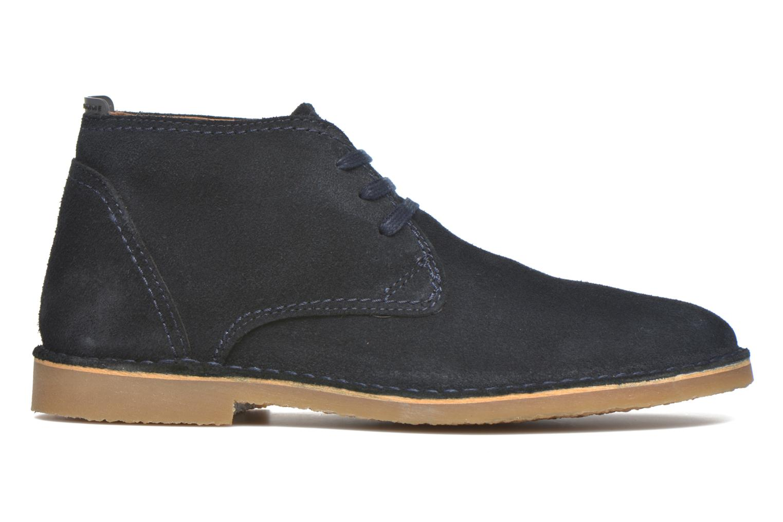 Chaussures à lacets Selected Homme Royce Warm Bleu vue derrière