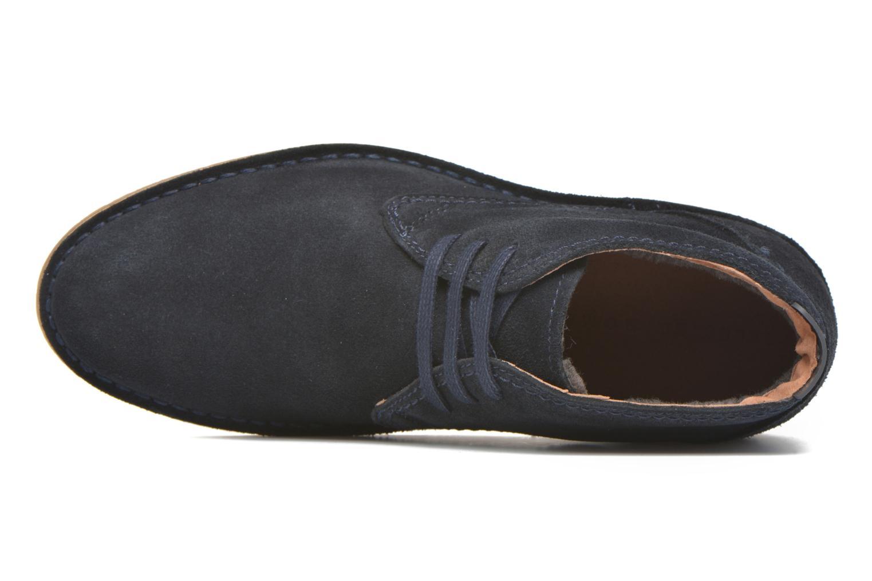 Chaussures à lacets Selected Homme Royce Warm Bleu vue gauche