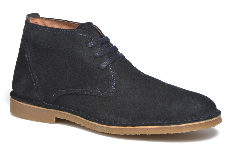 Chaussures à lacets Selected Homme Royce Warm Bleu vue détail/paire