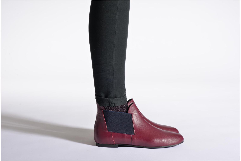 Bottines et boots Ippon Vintage Peal Short Noir vue bas / vue portée sac
