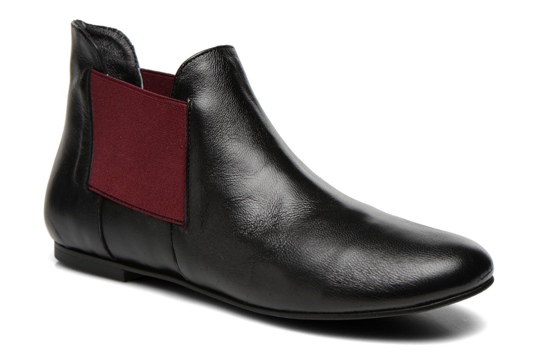 Bottines et boots Ippon Vintage Peal Short Noir vue détail/paire