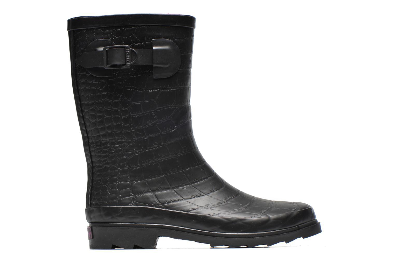 Stiefeletten & Boots Be Only Demi Croco Mat schwarz ansicht von hinten