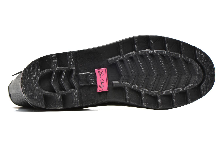 Stiefeletten & Boots Be Only Demi Croco Mat schwarz ansicht von oben
