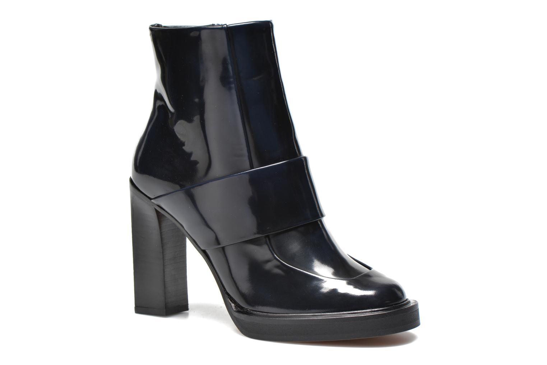 Ankelstøvler Carven Tchina Blå detaljeret billede af skoene