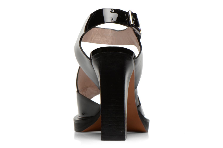 Sandales et nu-pieds Carven Dwina Noir vue droite