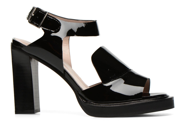 Sandales et nu-pieds Carven Dwina Noir vue derrière