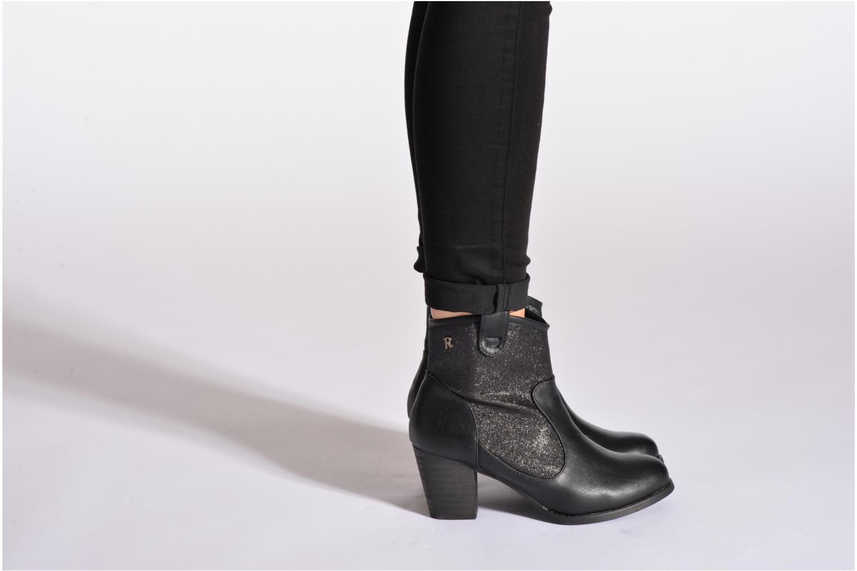 Bottines et boots Refresh Blake-61178 Noir vue bas / vue portée sac