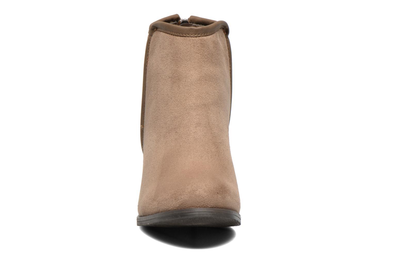 Bottines et boots Refresh Kim-61180 Beige vue portées chaussures