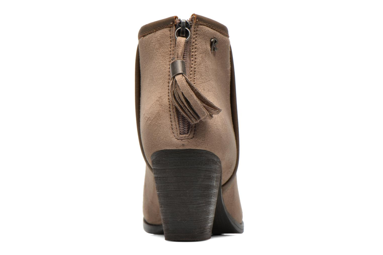 Bottines et boots Refresh Kim-61180 Beige vue droite