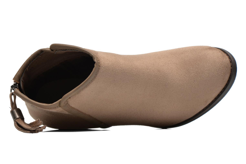 Bottines et boots Refresh Kim-61180 Beige vue gauche