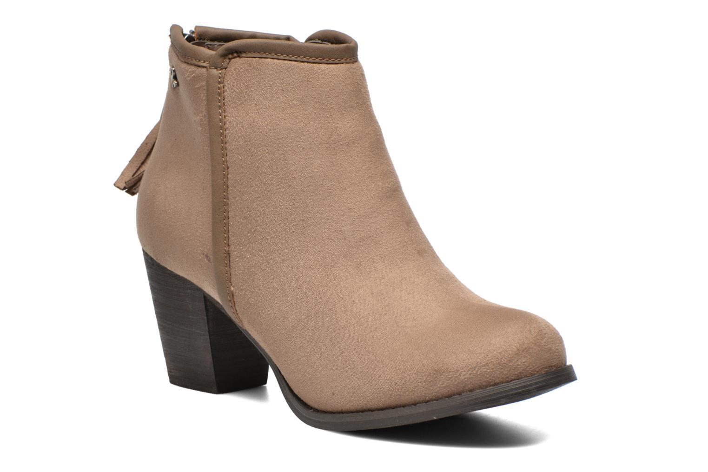 Bottines et boots Refresh Kim-61180 Beige vue détail/paire