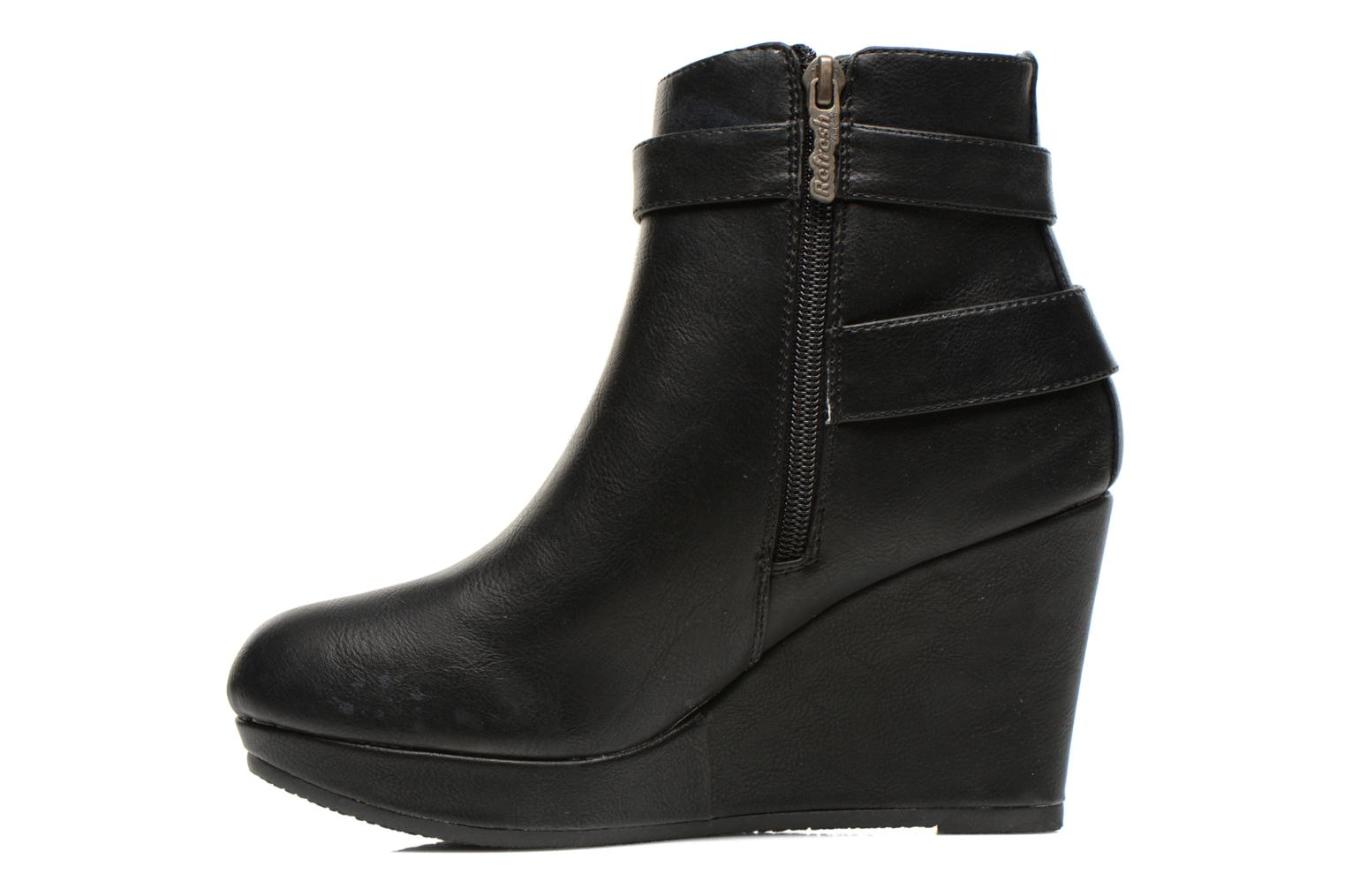 Bottines et boots Refresh Elfy-61110 Noir vue face