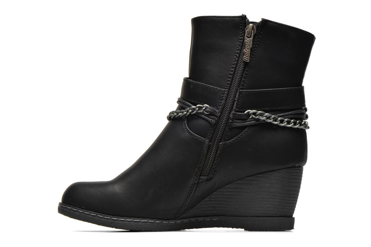 Bottines et boots Refresh Lios-61618 Noir vue face