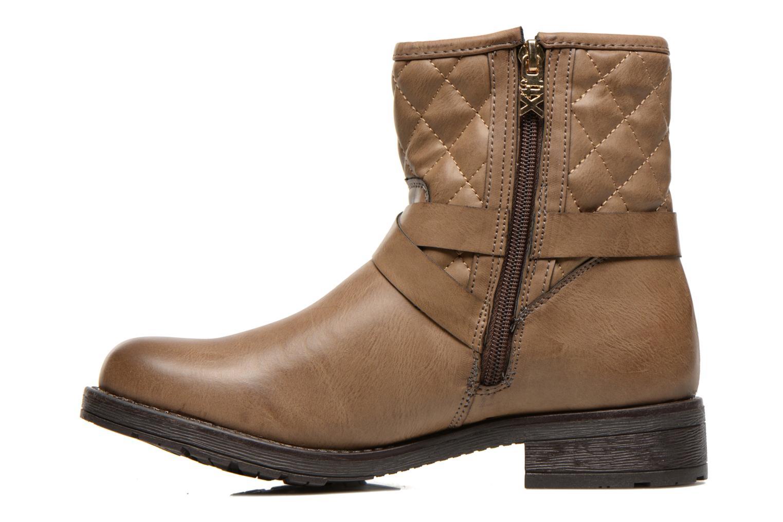 Bottines et boots Xti Alexa-28526 Beige vue face