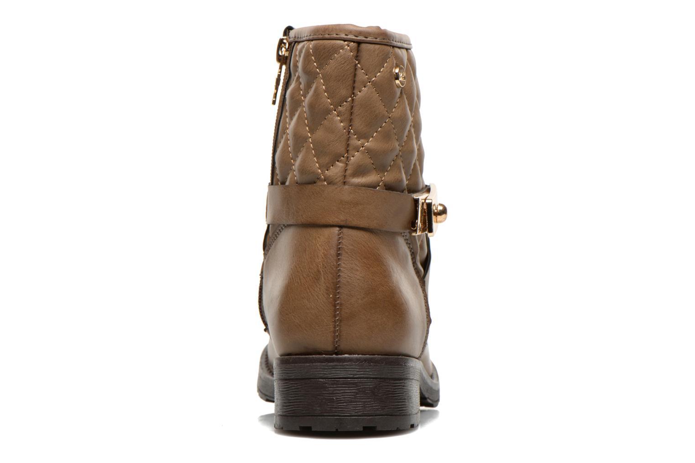 Bottines et boots Xti Alexa-28526 Beige vue droite