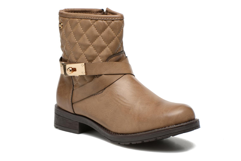 Bottines et boots Xti Alexa-28526 Beige vue détail/paire