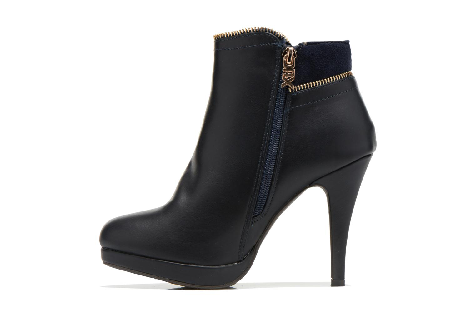Ankle boots Xti Joli-28452 Blue front view