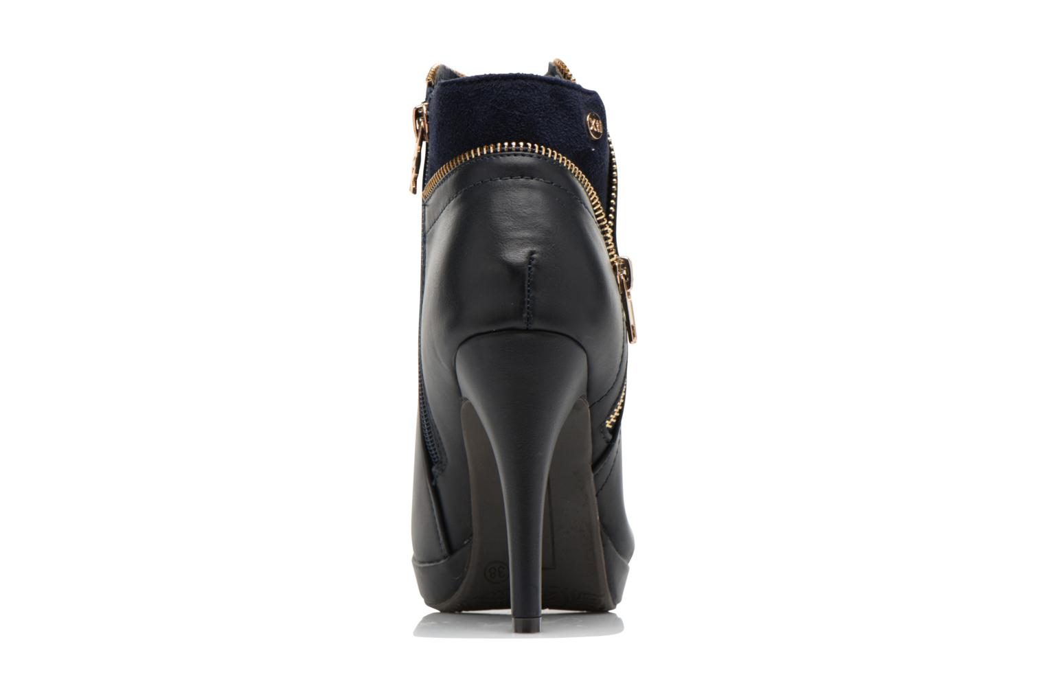 Ankle boots Xti Joli-28452 Blue view from the right