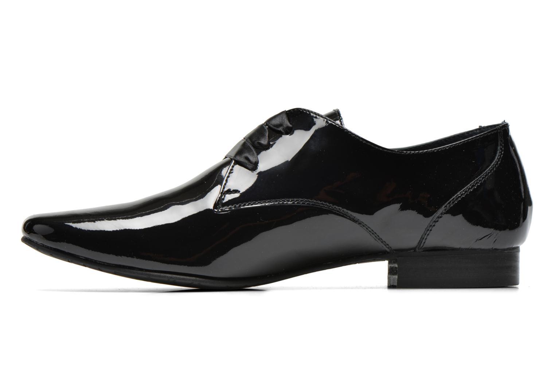 Chaussures à lacets Coco et abricot Brenda Noir vue face