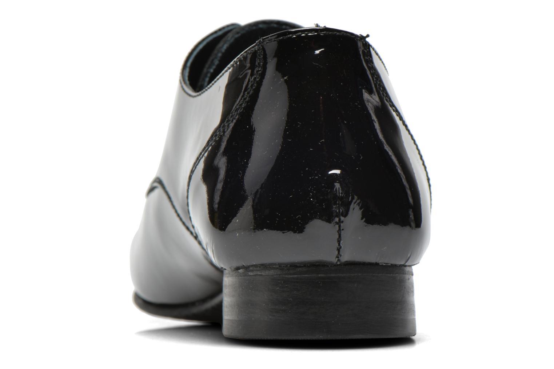 Chaussures à lacets Coco et abricot Brenda Noir vue droite