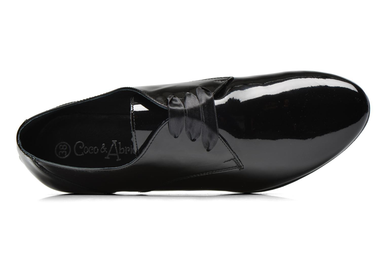 Chaussures à lacets Coco et abricot Brenda Noir vue gauche