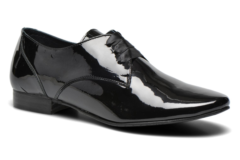 Chaussures à lacets Coco et abricot Brenda Noir vue détail/paire