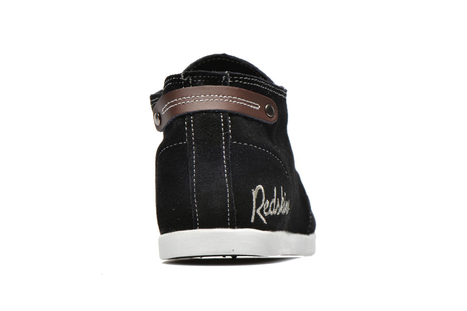 Baskets Redskins Zipper Noir vue droite