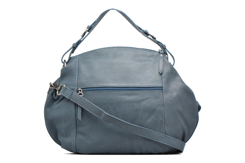 Handtaschen Sabrina Béatrice blau ansicht von vorne