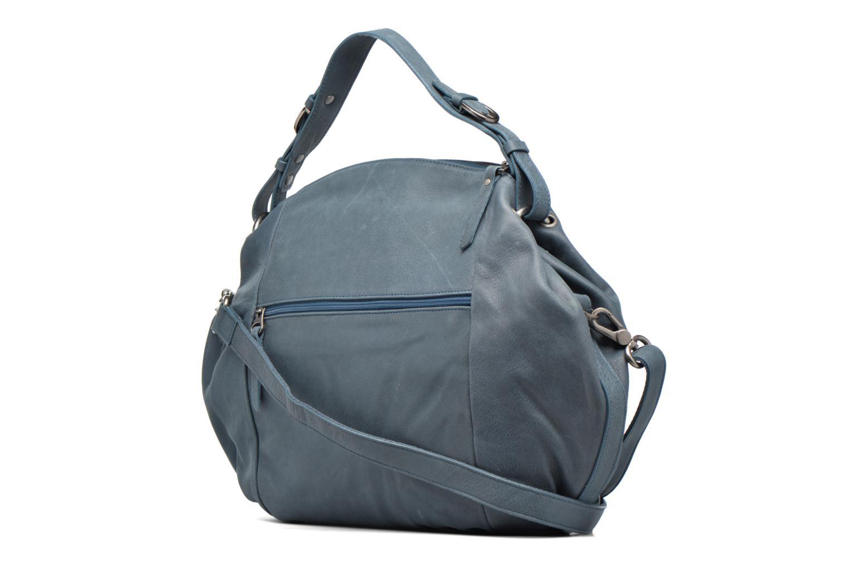 Handtaschen Sabrina Béatrice blau ansicht von rechts