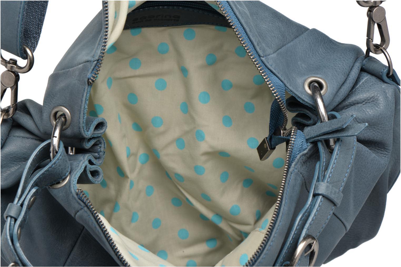 Handtaschen Sabrina Béatrice blau ansicht von hinten