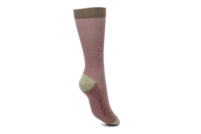 Socken & Strumpfhosen My Lovely Socks Victor rosa ansicht von links