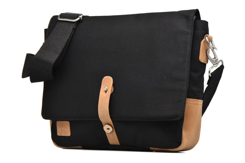 Herrentaschen Faguo Messenger schwarz schuhe getragen